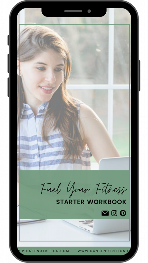 Pointe Nutrition - Fuel Your Fitness Starter Workbook