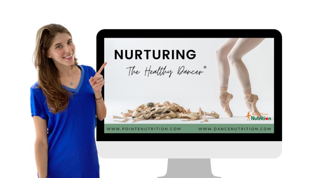 nutrition workshop for dancers
